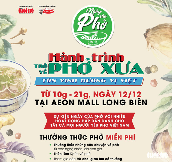 Ngày của phở tại Hà Nội: Phở chính là hộ chiếu của ẩm thực Việt Nam - Ảnh 17.