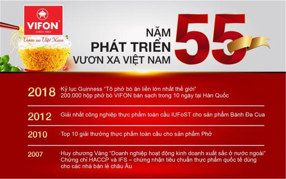VIFON đưa ẩm thực Việt hội nhập quốc tế - Ảnh 1.