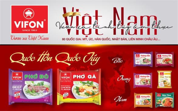 VIFON đưa ẩm thực Việt hội nhập quốc tế - Ảnh 2.