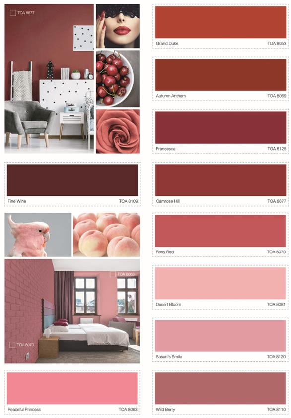Xu hướng sắc màu năm 2019 - TOA The Color Story - Ảnh 2.