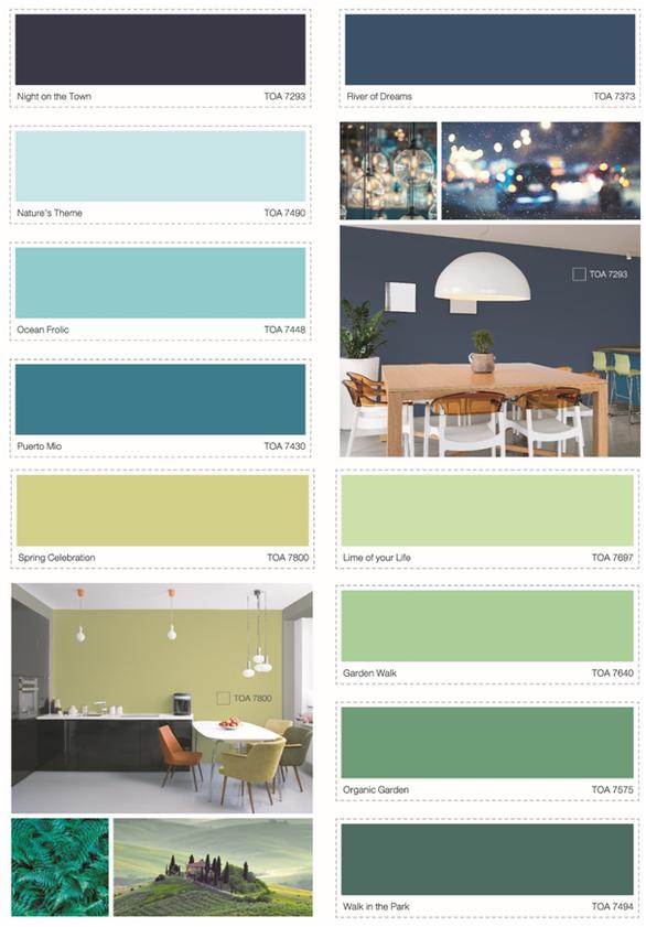 Xu hướng sắc màu năm 2019 - TOA The Color Story - Ảnh 4.