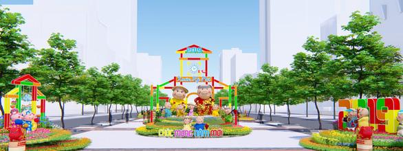 Công bố những nét mới của đường hoa Nguyễn Huệ Tết Kỷ Hợi - Ảnh 2.