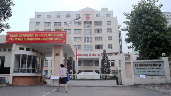 Bộ GD-ĐT không chấp nhận bản án tòa Hà Nội tuyên ông Quế thắng kiện    - Ảnh 1.