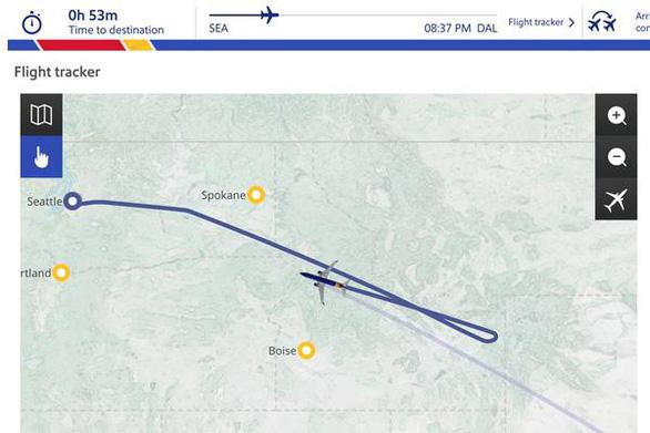 Máy bay Mỹ hạ cánh khẩn vì quả tim bị bỏ quên - Ảnh 2.
