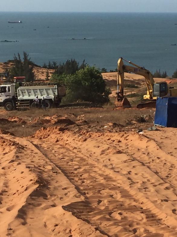 Cận cảnh công trường dự án biệt thự biển tại Phan Thiết - Ảnh 1.