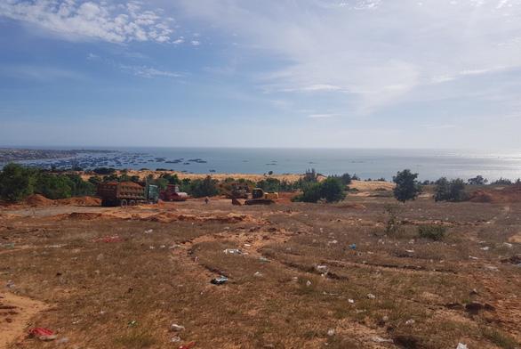 Cận cảnh công trường dự án biệt thự biển tại Phan Thiết - Ảnh 2.