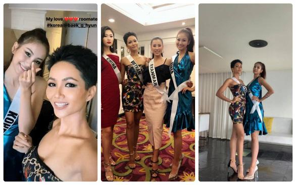 Livestream với hoa hậu Hàn Quốc, H'Hen Niê gây sốt vì... dễ thương - Ảnh 3.