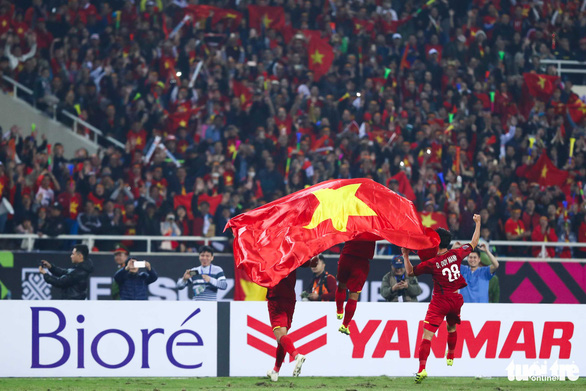 Slogan của tuyển VN tại Asian Cup: Những chiến binh sao vàng - Ảnh 1.