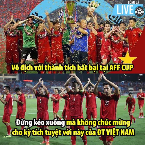 Dân mạng nhuộm đỏ mạng xã hội khi tuyển Việt Nam vô địch - Ảnh 12.