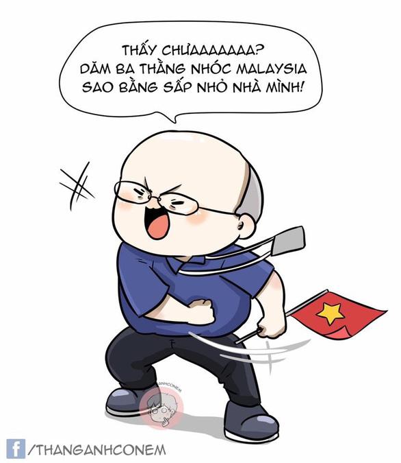 Dân mạng nhuộm đỏ mạng xã hội khi tuyển Việt Nam vô địch - Ảnh 9.