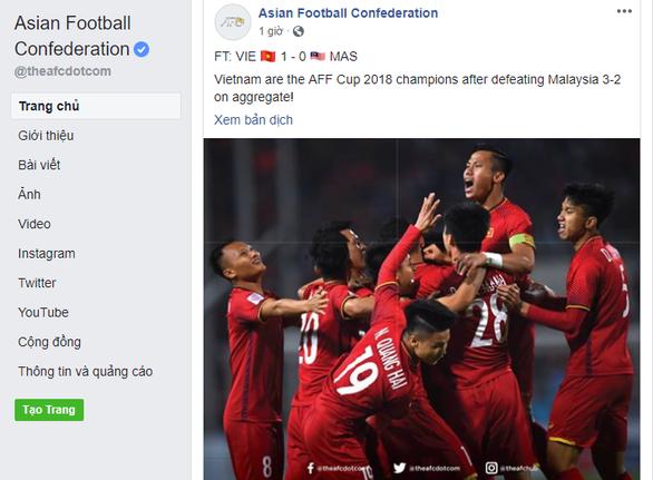 La Liga, Bundesliga và thế giới chức mừng tuyển Việt Nam - Ảnh 3.
