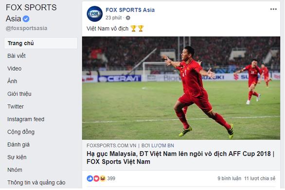 La Liga, Bundesliga và thế giới chức mừng tuyển Việt Nam - Ảnh 2.