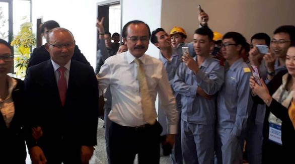 HLV Park Hang Seo hội ngộ bầu Đức và bầu Thắng tại Quảng Nam - Ảnh 9.