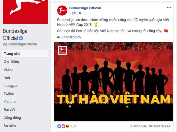 La Liga, Bundesliga và thế giới chức mừng tuyển Việt Nam - Ảnh 5.
