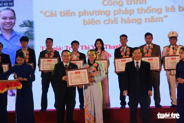 Trao thưởng 28 sản phẩm, công trình sáng tạo trẻ năm 2018 - Ảnh 1.