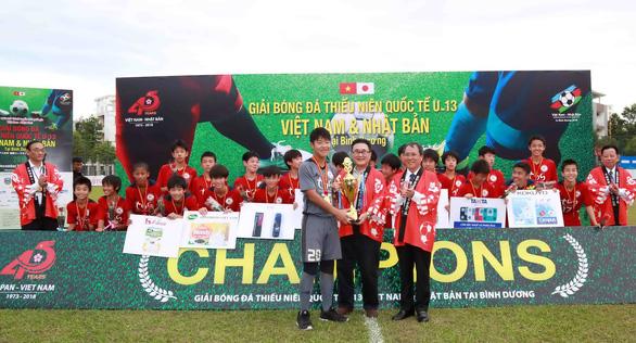U13 Tokyu S Reyes vô địch giải bóng đá quốc tế VN - Nhật Bản - Ảnh 3.