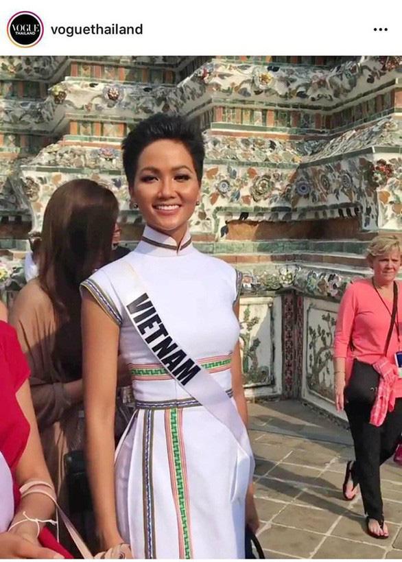 Áo dạ hội đính 3.000 viên đá quý của HHen Niê tại Miss Universe - Ảnh 3.