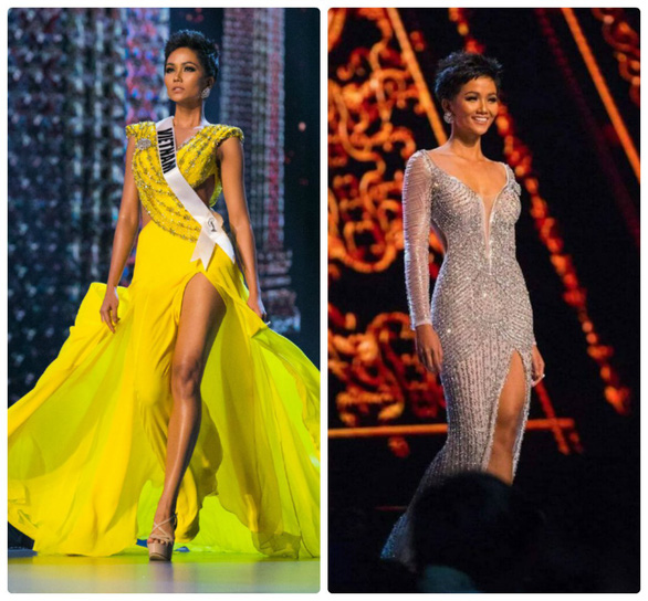 Áo dạ hội đính 3.000 viên đá quý của HHen Niê tại Miss Universe - Ảnh 4.