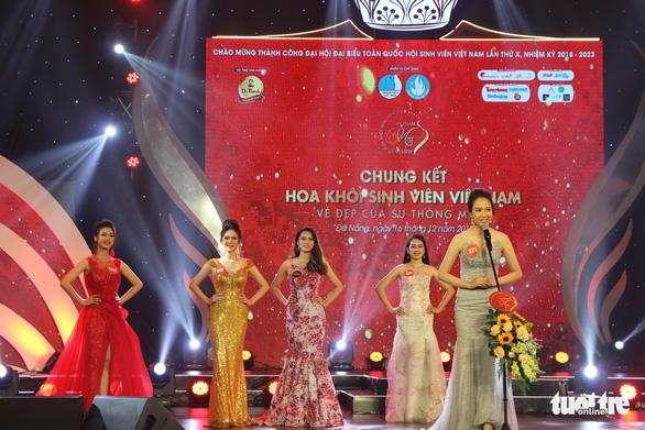 Nữ sinh trường Luật đăng quang hoa khôi sinh viên Việt Nam - Ảnh 2.