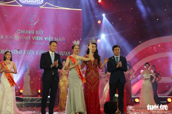Nữ sinh trường Luật đăng quang hoa khôi sinh viên Việt Nam - Ảnh 1.