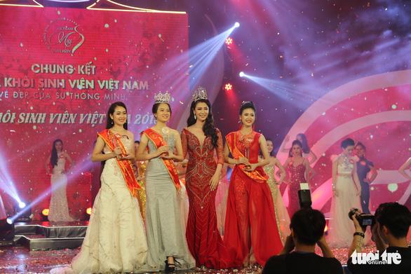 Nữ sinh trường Luật đăng quang hoa khôi sinh viên Việt Nam - Ảnh 12.