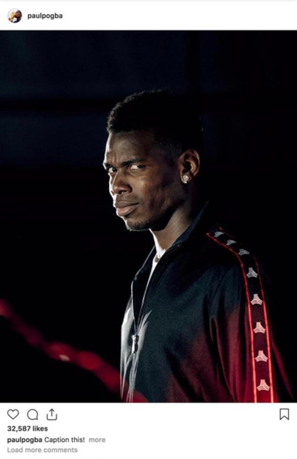 Mourinho bị sa thải, tiền đạo Pogba tỏ vẻ hả hê trên Instagram - Ảnh 1.