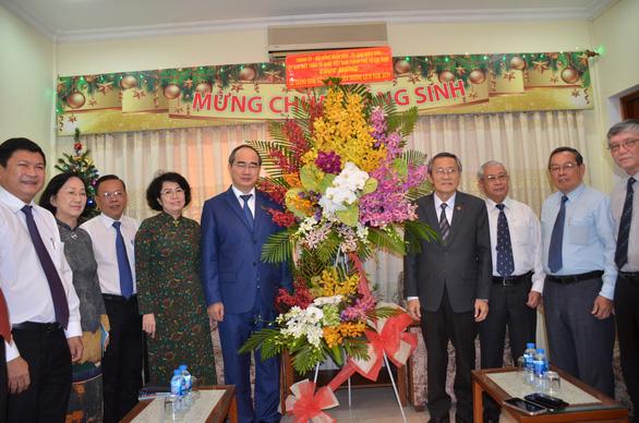 Bí thư Nguyễn Thiện Nhân chúc mừng Hội thánh Tin lành Việt Nam - Ảnh 1.