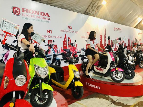 Honda VN bất ngờ với sự kiện ra mắt... xe máy điện Honda - Ảnh 3.