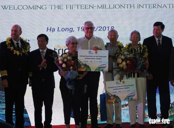 Cảng tàu khách quốc tế Hạ Long đón khách quốc tế thứ 15 triệu đến Việt Nam - Ảnh 7.