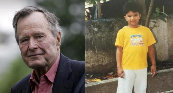 Bush cha làm bạn tâm thư với bé trai Philippines suốt 10 năm - Ảnh 3.