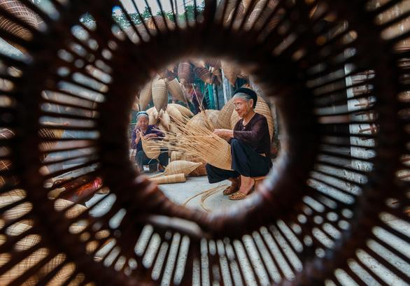 Thăm làng nghề đan đó 200 tuổi ở Hưng Yên - Ảnh 4.