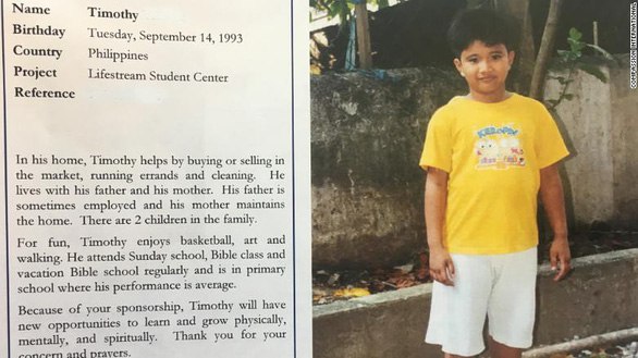 Bush cha làm bạn tâm thư với bé trai Philippines suốt 10 năm - Ảnh 4.