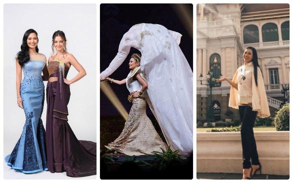 Có thể ngồi tù vì chê váy dạ hội Miss Universe của công chúa Thái - Ảnh 4.