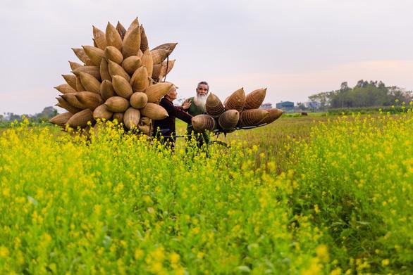 Thăm làng nghề đan đó 200 tuổi ở Hưng Yên - Ảnh 7.