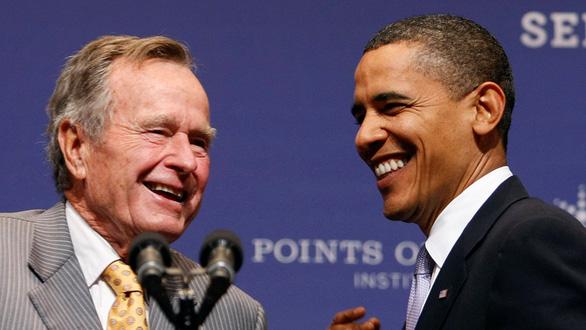 Cựu tổng thống Bush cha qua đời: Một nhiệm kỳ định hình nước Mỹ - Ảnh 1.