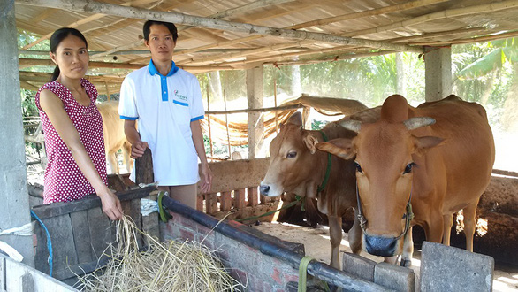 Chiếc cần câu từ Tiếp sức nhà nông cho con đến trường - Ảnh 1.