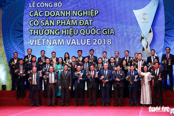 97 doanh nghiệp có sản phẩm đạt Thương hiệu quốc gia 2018 - Ảnh 2.