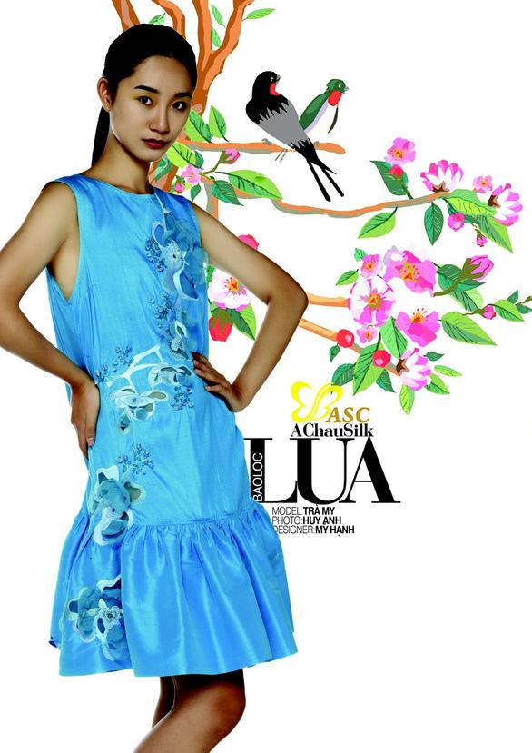 Lụa, thổ cẩm bung nở trong 125 năm Đà Lạt - Thành phố ngàn hoa - Ảnh 3.