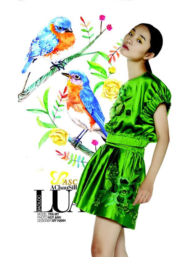 Lụa, thổ cẩm bung nở trong 125 năm Đà Lạt - Thành phố ngàn hoa - Ảnh 4.