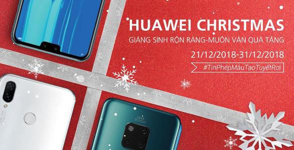 3 lý do khiến Huawei là gợi ý quà Giáng sinh lý tưởng - Ảnh 3.