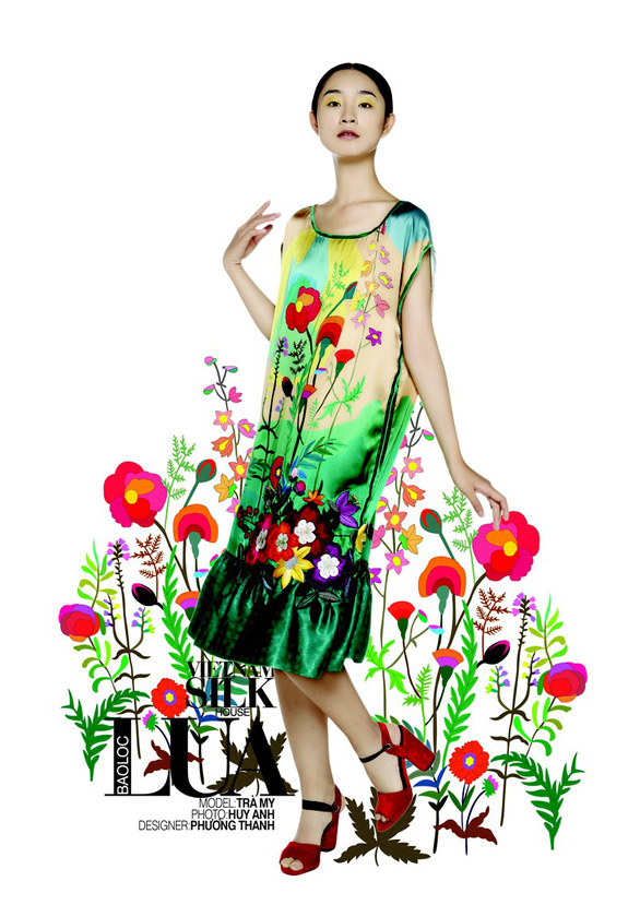 Lụa, thổ cẩm bung nở trong 125 năm Đà Lạt - Thành phố ngàn hoa - Ảnh 8.