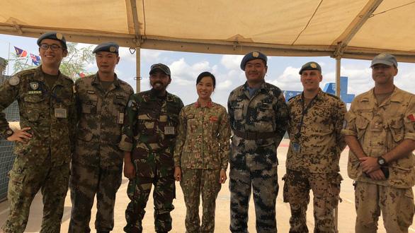 Lính Việt Nam ở châu Phi - kỳ 1: Nữ thiếu tá Việt đầu tiên ở Nam Sudan - Ảnh 1.