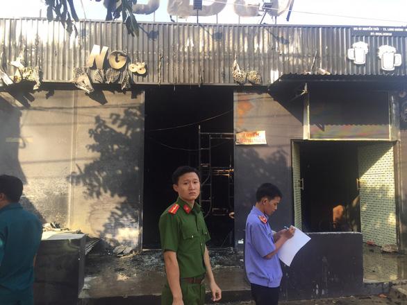 Cháy quán nhậu ở Đồng Nai, 6 người chết, tạm giữ thầu công trình - Ảnh 4.