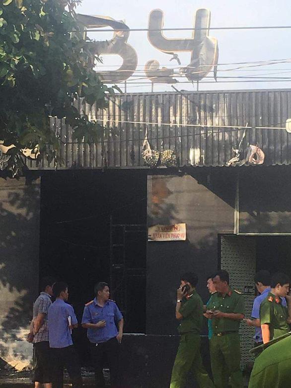 Cháy quán nhậu ở Đồng Nai, 6 người chết, tạm giữ thầu công trình - Ảnh 7.