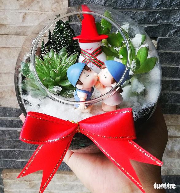 Bạn trẻ biến tấu cây xanh thân thiện môi trường mùa Giáng sinh - Ảnh 6.