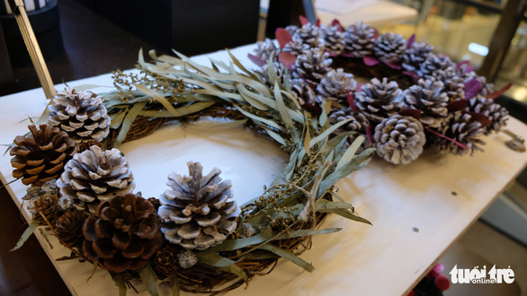 Bạn trẻ biến tấu cây xanh thân thiện môi trường mùa Giáng sinh - Ảnh 5.