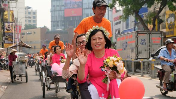 50 cặp đôi khuyết tật hạnh phúc trong lễ cưới tập thể  - Ảnh 9.