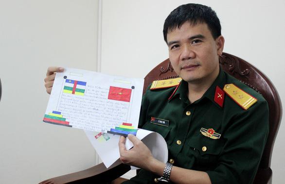 Lính Việt Nam ở Châu Phi - Kỳ 2: Lớp dạy toán của lính Việt ở Trung Phi - Ảnh 1.