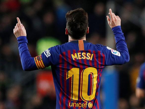 Tiếp tục ghi bàn cho Barca, Messi đạt hiệu suất đáng sợ! - Ảnh 2.