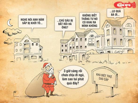 Nỗi niềm của ông già Noel - Ảnh 8.